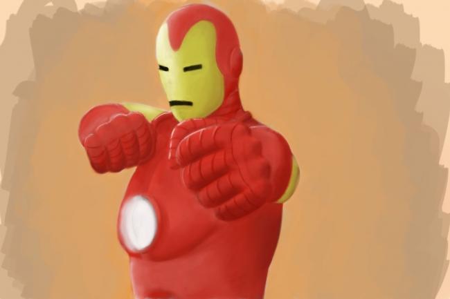 Железный Человек (классический костюм)
