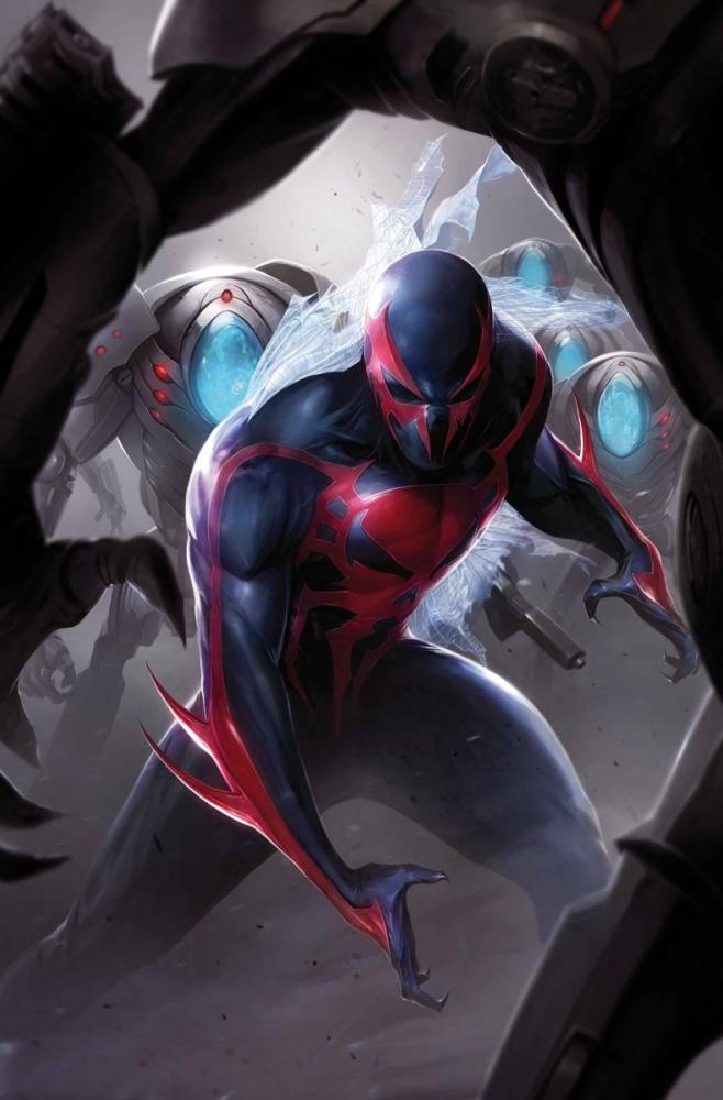 человека паука из будущего