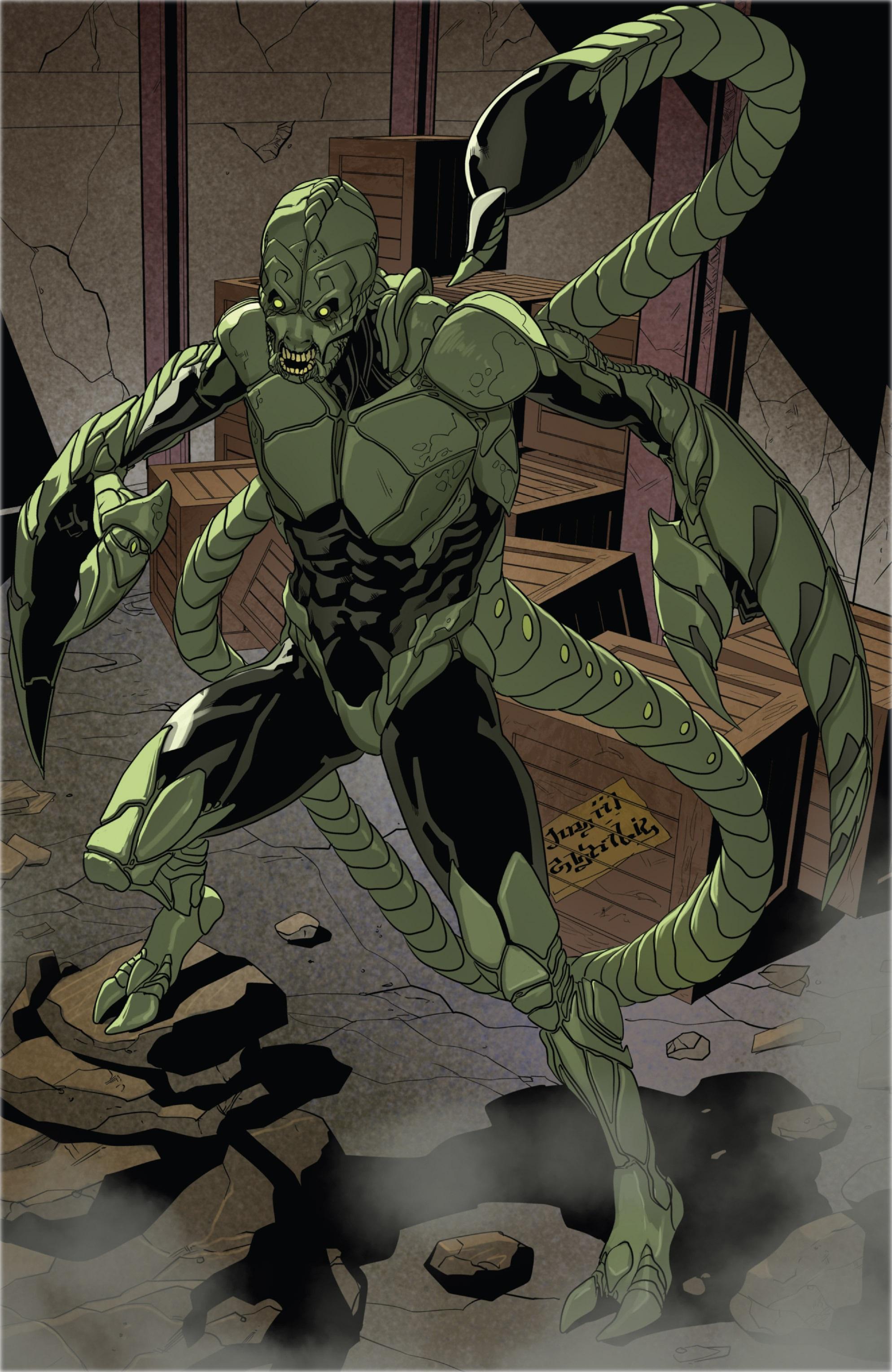 Скорпион марвел картинки