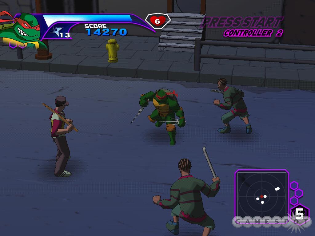 Черепашки Ниндзя 3 Игру